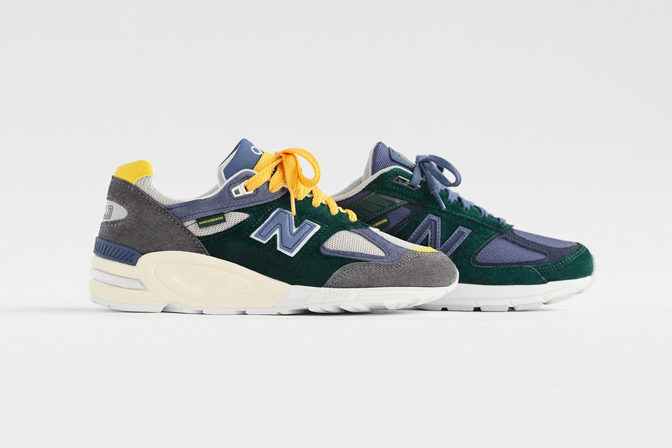 Aimé Leon Dore Reveals Official Release Date & Images for New Balance 990 Series Collabs (UPDATE)
