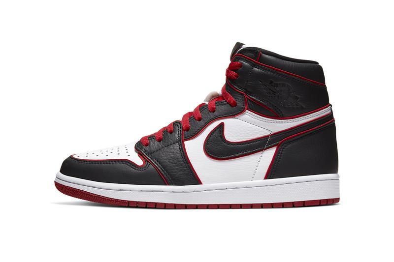 air jordan 1 retro high og bloodline who said man was not meant to fly 555088 062 black white gym red release date info photos price