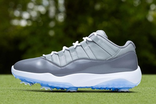 """Air Jordan 11 Low """"Cool Grey"""" Makes Its Way Onto the Golf Course"""