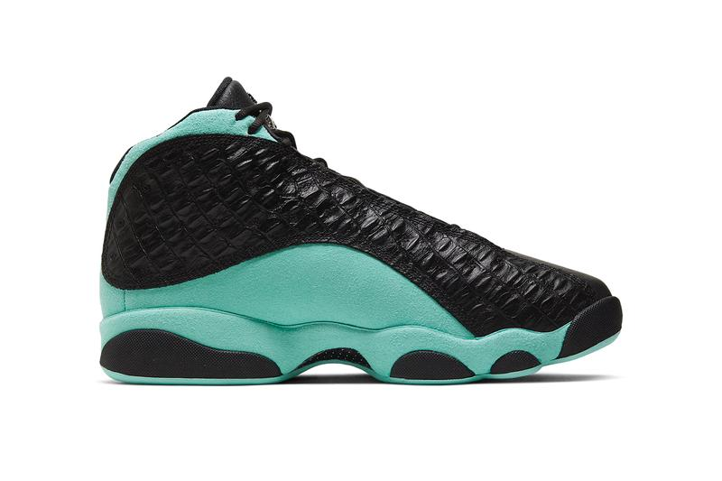 air jordan 13 island green black teal croc 414571 030 release date info photos price colorway november 9 2019
