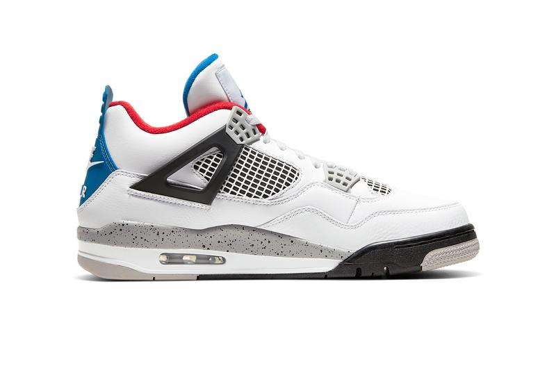 air jordan 4 what the release date info photos price CI1184-146 military blue bred white cement fire red