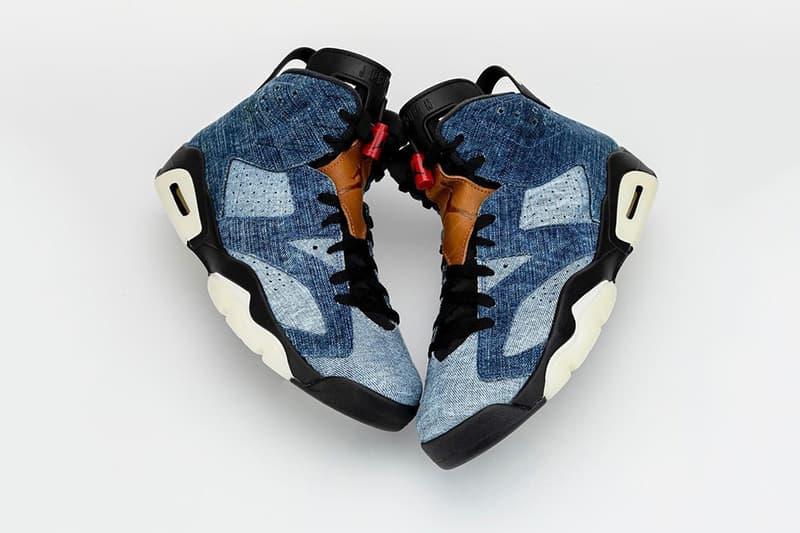 "Air Jordan 6 in ""Washed Denim"" First Look sneakers footwear jordan brand holiday collection release information"