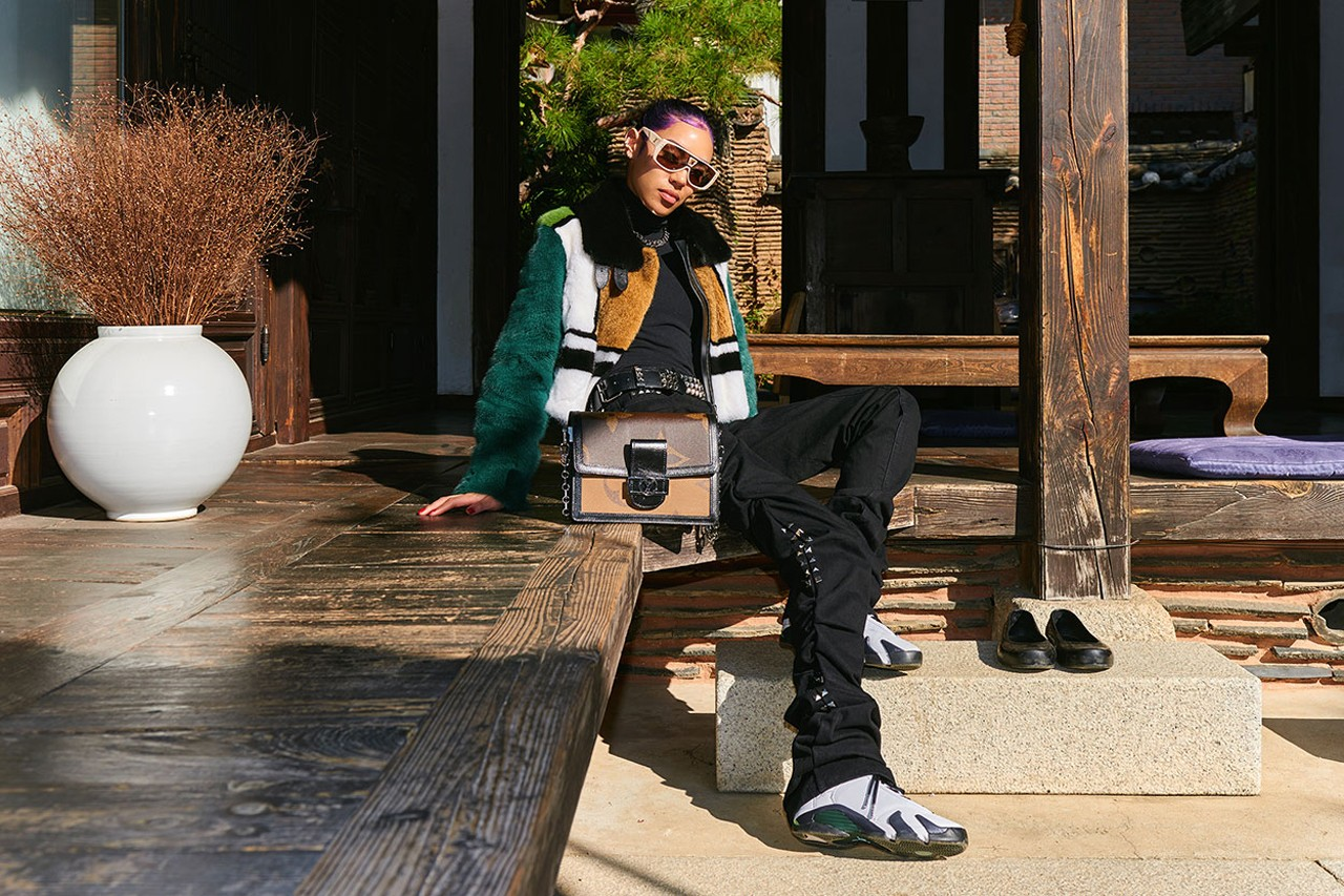 Aleali May in Korea Streetsnaps, Style Interview nike stylist feature wearing outfit jordan brand louis vuitton history collaboration seoul