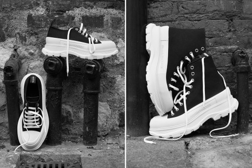 "Alexander McQueen Introduces Chunky ""Tread Slick"" Sneaker Boots"