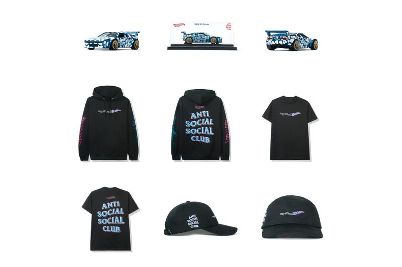 Anti Social Social Club Teases Hot Wheels Collaborations toy cars clothing