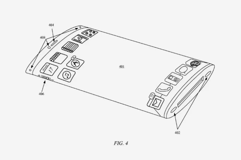 Apple Files Patent iPhone Wraparound Screen Release info Date Next Design