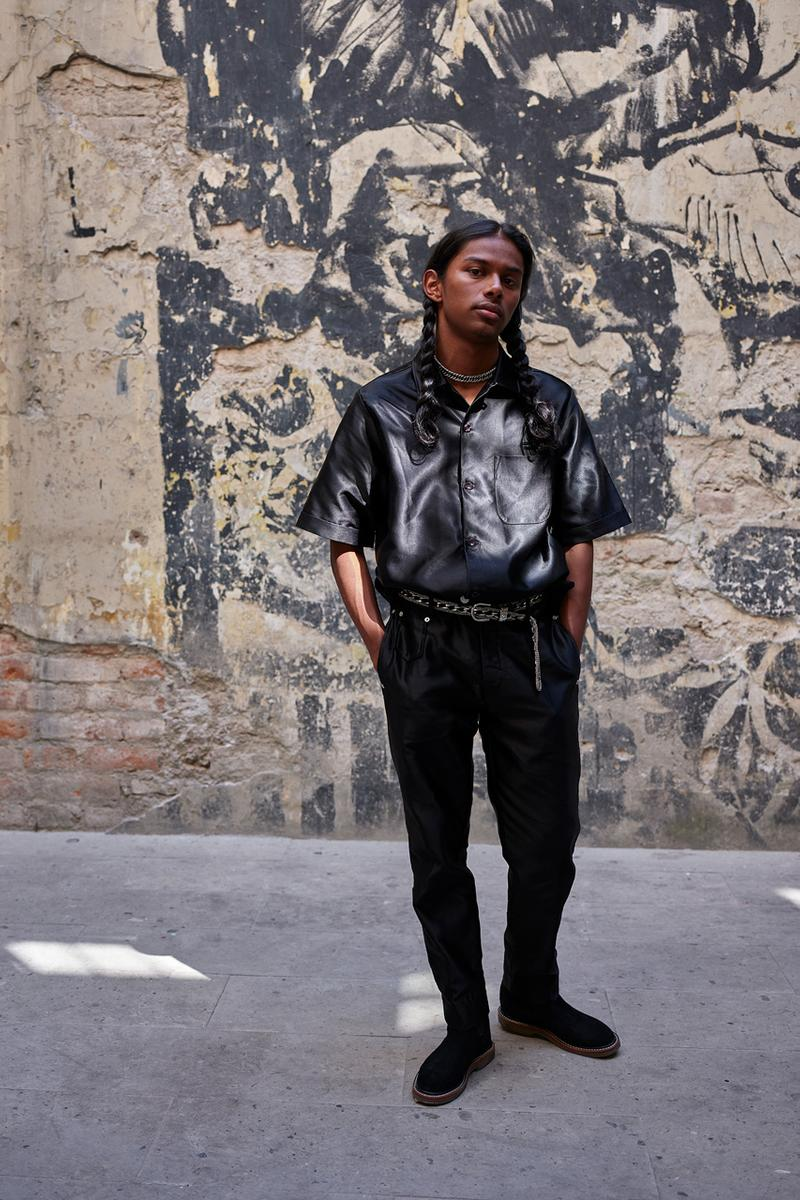 """Art Comes First Winter 2019 Collection """"Electric Church"""" Oliver Goldsmith Fred Perry VooDoo & Serano Shirts Jackets Pants Black"""