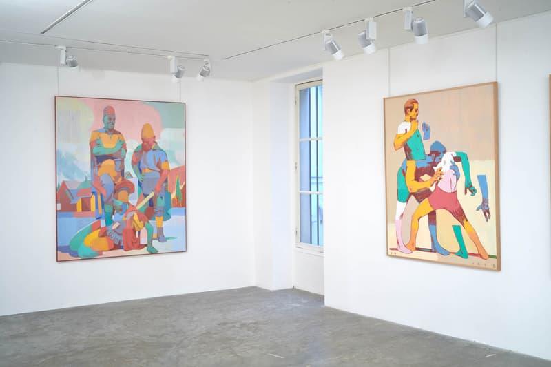 "ARYZ ""PUGNA"" Exhibition Round Two Paris Nicolas Couturieux Paintings Spanish Civil War"