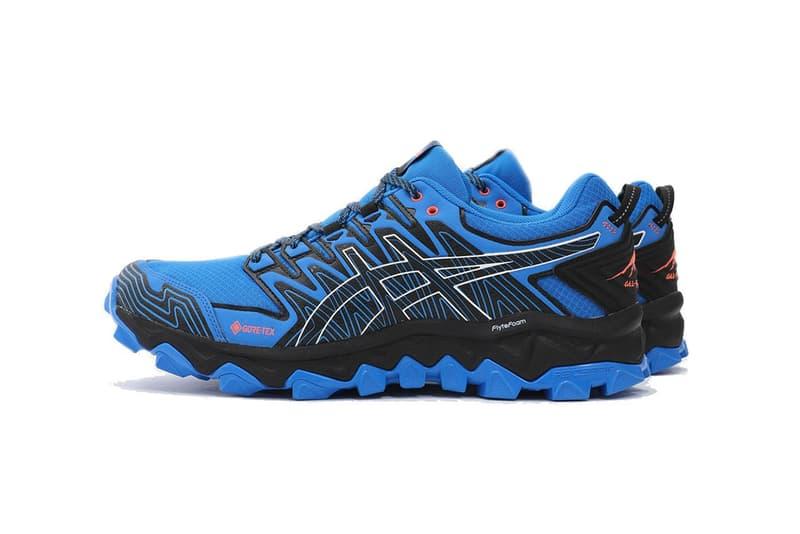 asics gel fujitrabuco 7 electric blue gore tex gtx release date info photos price