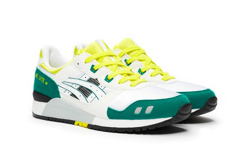 asics gel lyte 3 og citrus white green yellow release date info photos price 1191A266 100 2019 1989