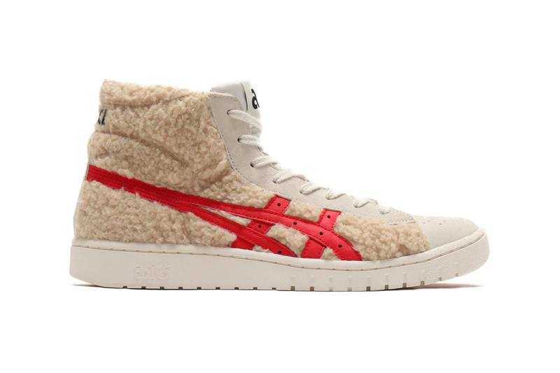 ASICS GEL PTG MT BOA Beige runners trainers sneakers shoes footwear sportswear 1983 FABREPOINTGETTER high tops atmos tokyo exclusive Japanese ortholite insole fuzeGEL