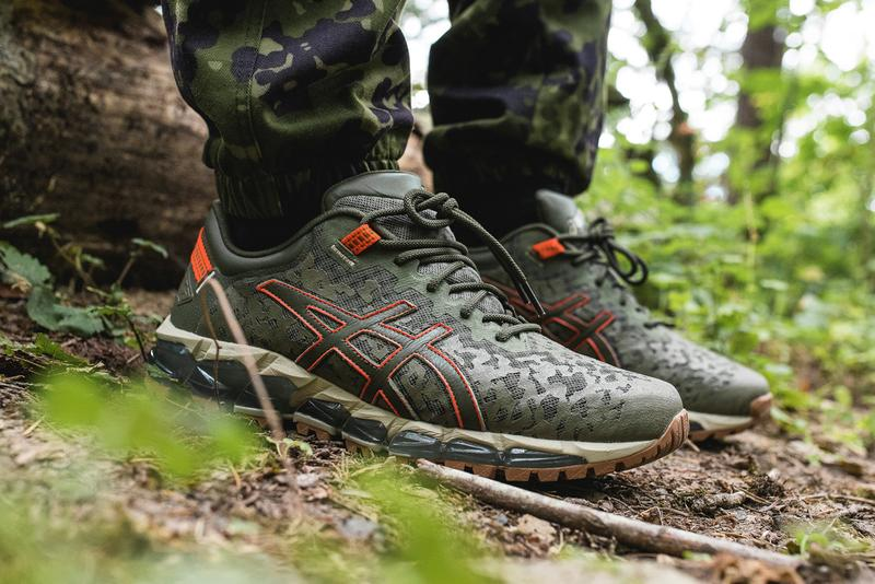 asics gel lyte quantum 360 trail 5 flight jacket olive orange neon 1021A268 1191A299 mantle release date info photos price  5 outdoor GEL-Lyte V GEL-Kayano 26 GEL-Quantum 360 5 Trail