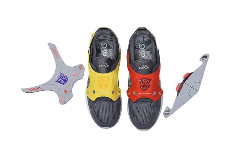 ASICS x Transformers Gel-Lyte V Release Info sneaker shoe drop price date november 15 atmos tokyo hasbro optimus prime autobot decepticon