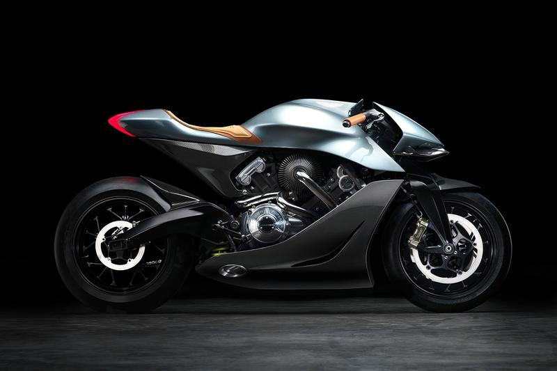 Aston Martin Unveils $120,000 USD Motorbike amb 001 sports bike automotive design Brough Superior