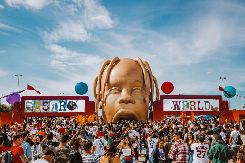 At Least Three Travis Scott Fans Injured in Astroworld Festival Stampede crowd