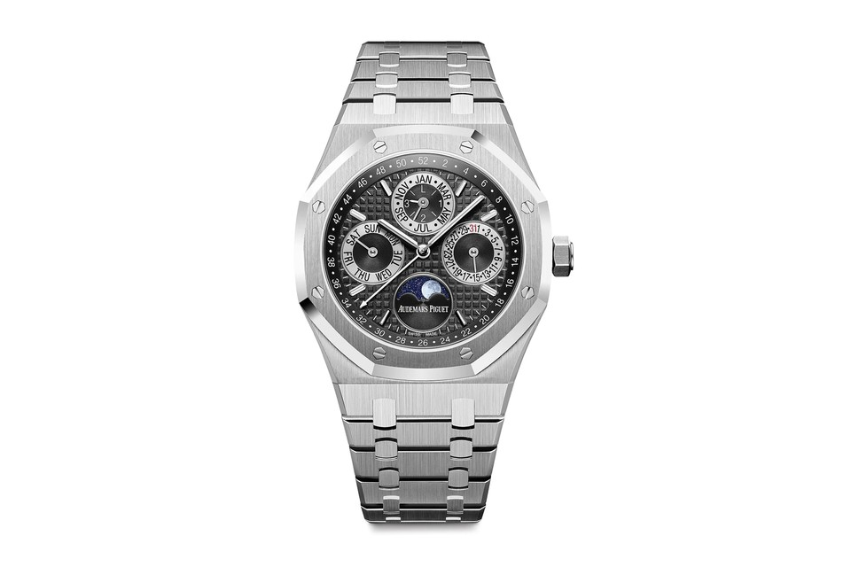 Audemars Piguet Teams With Yoshida for Platinum Royal Oak Perpetual Calendar
