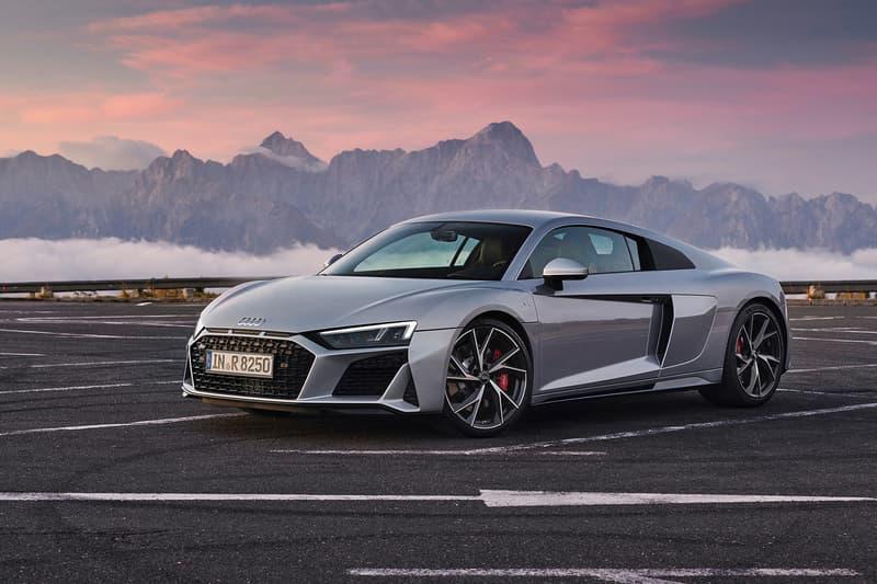 Audi 2020 R8 RWS V10 Info supercars audi RWD rear wheel drive
