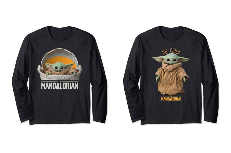 Baby Yoda Merch Star Wars The Mandalorian Holiday Season tees