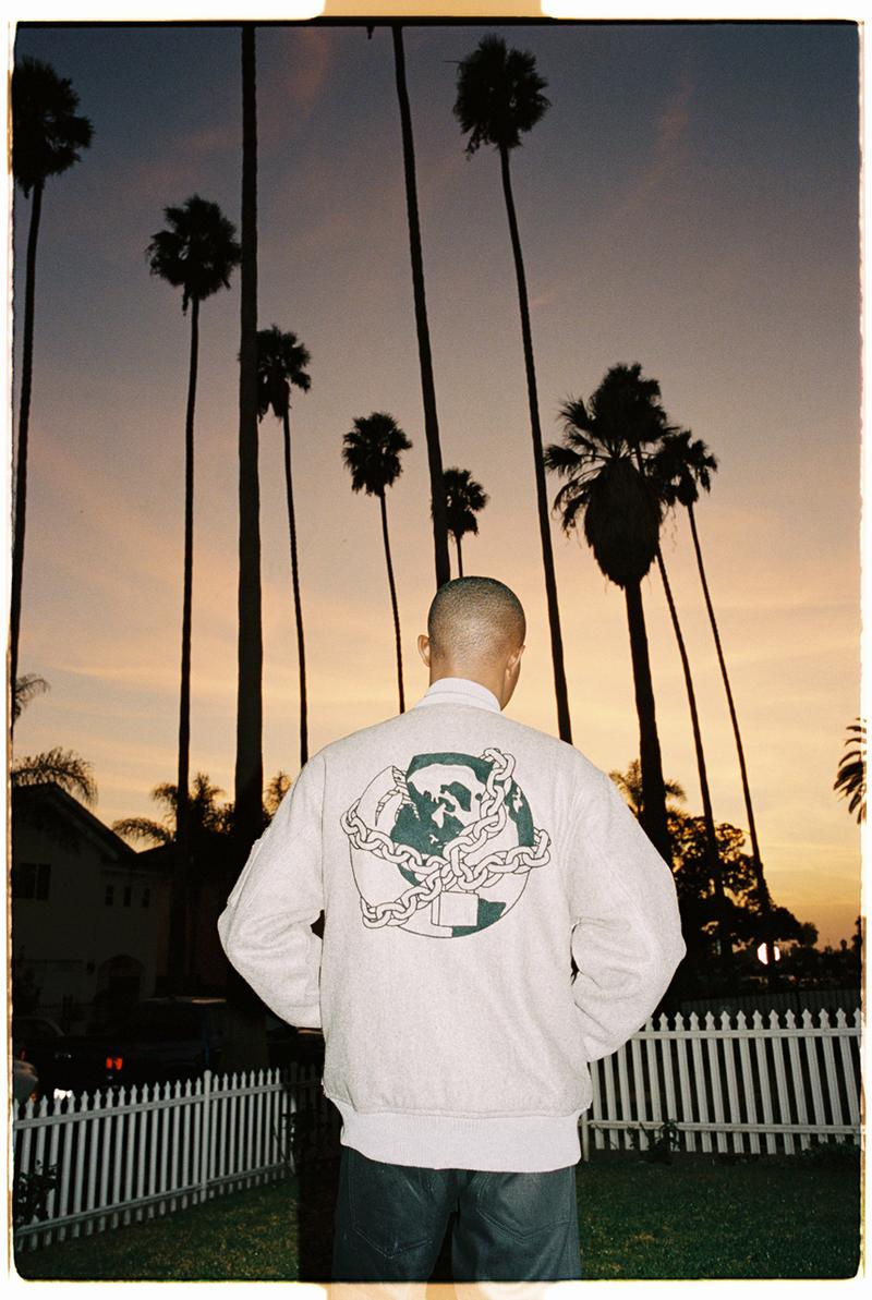 Babylon LA Winter 2019 Collection First Drop Info T-shirts Hoodies Football Jerseys White Black Red Wool Bomber Jackets Parkas Hats Bags Skateboard Decks