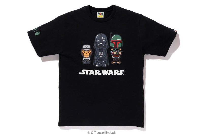 BAPE Teases New Star Wars The Mandalorian Collaborative Capsule baby milo the rise of skywalker collaborations lucasfilms