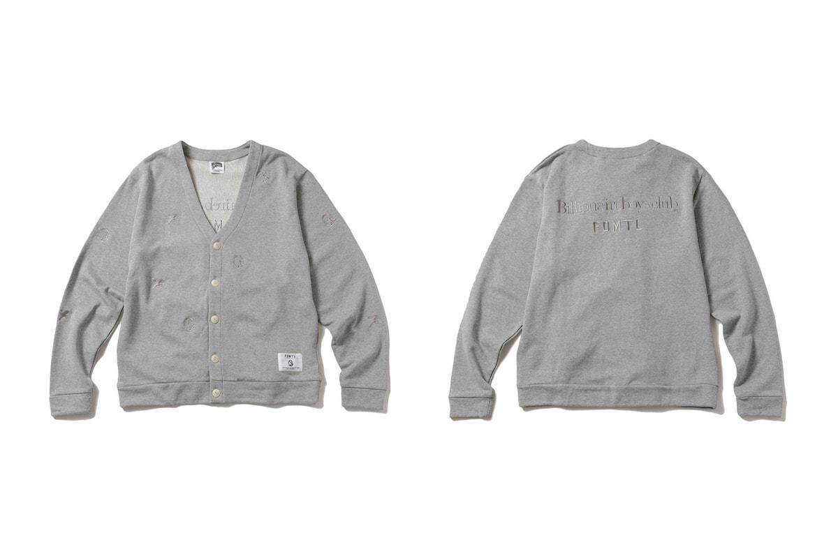 Billionaire Boys Club x FDMTL FW19 Collection Lookbook  jackets indigo Japanese Pharrell Williams
