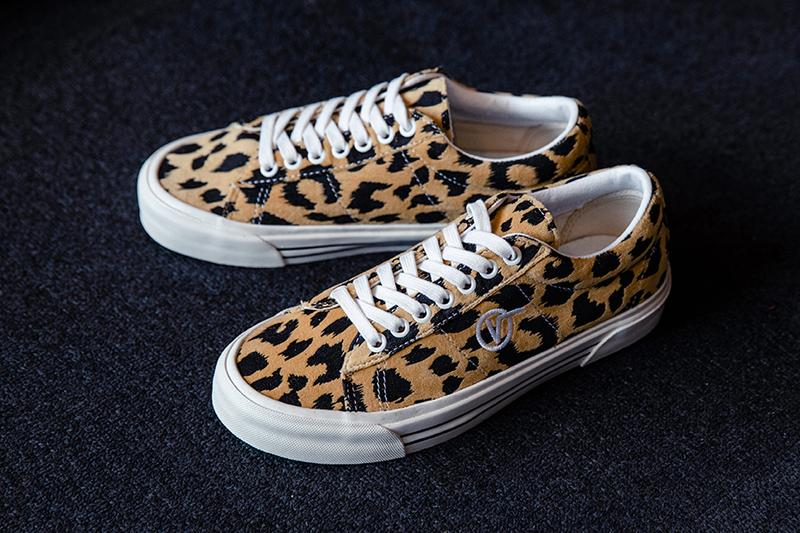 BILLYs exclusive Vans SID DX Style 53 DX shoes trainers runners sneakers footwear retailer Tokyo japanese leopard print off the wall ultra cushion skateboarding retro vintage anaheim factory