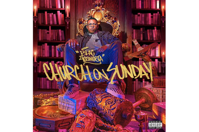 Blac Youngsta 'Church on Sunday' Album Stream listen now spotify apple music hip-hop rap trap T.I. Dababy yo gotti moneybagg yo jacquees city girls tory lanez g-eazy pnb rock wiz khalifa chris brown Epic Records