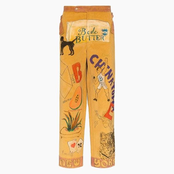 Bode Multicolored Corduroy Pants