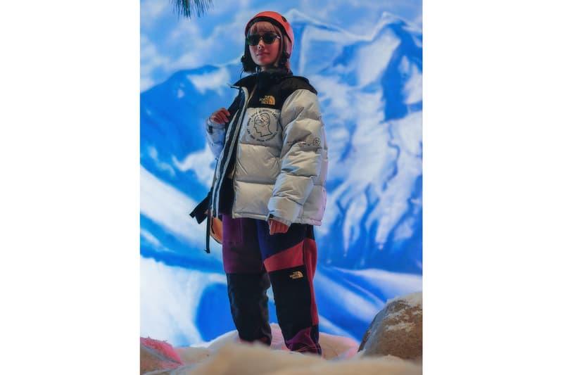Brain Dead The North Face Fall Winter 2019 Capsule Release info date full Look long short sleeve T shirt Hoodie Denali Nuptse Mountain Jacket