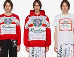 Moschino Looks to Big Budweiser Logos for Quirky FW19 Capsule