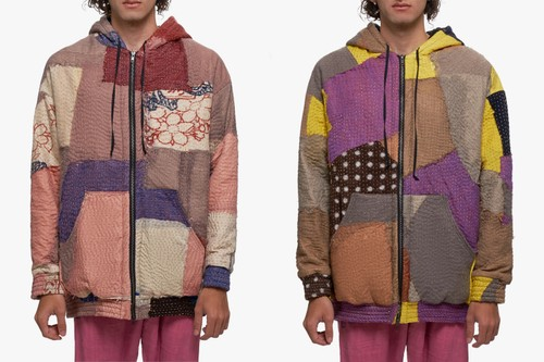 By Walid Releases Upcycled Patchwork Tricot Hayden Jackets