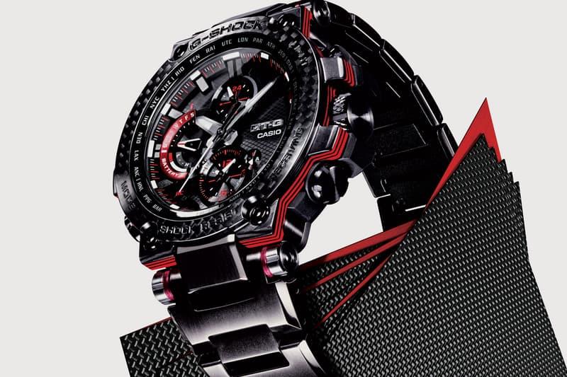 Casio G-SHOCK New Luxury MT-G Model MTGB1000XBD-1 Red Black Sapphire Crystal
