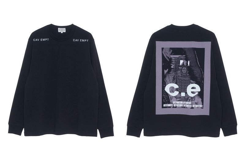 Cav Empt Fall/Winter 2019 18th Drop Release Info sk8thing toby feltwell c.e streetwear japanese fashion graphics outerwear 8WALE COLOUR CORDS 011100100 LONG SLEEVE T OVERDYE DOUBLE FACE CREW NECK FURRY LINING ZIP SWEAT  RED C empt T MELTON ZIP JACKET ZIGGURAT KNIT OVERDYE 8WALE CORD JACKET drop date price
