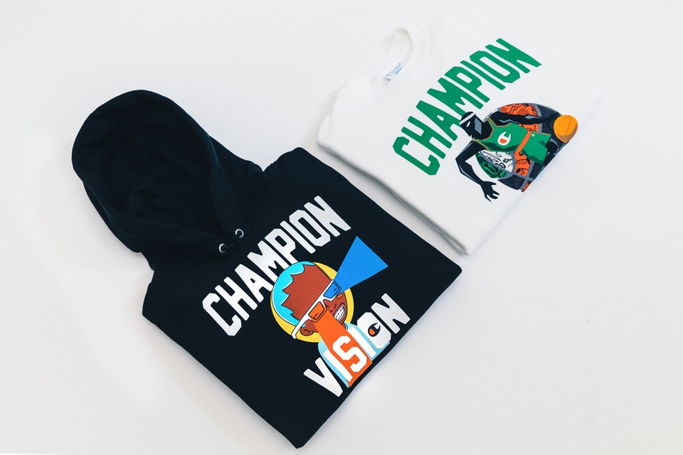 Champion Teams up With Hebru Brantley for Limited-Edition Artist Series