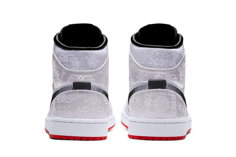 clot air jordan 1 mid fearless white black red silk release date info photos price CU2804 100