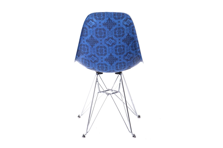 CLOT Modernica Fiberglass Side Shell Eiffel Chair Royale University Blue Silk Release Info Date Buy Edison Chen Kevin Poon Kpee