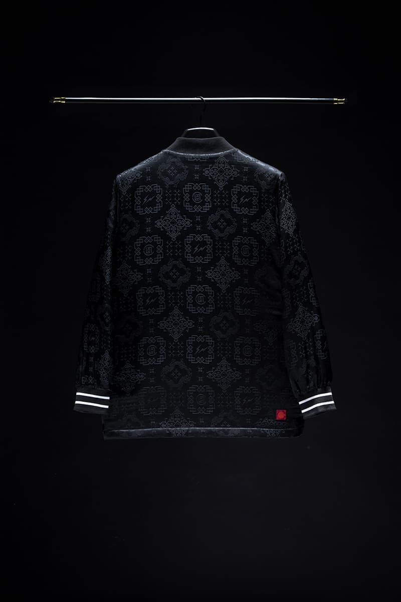 CLOT Nike Black Silk KUUMBA Incense Can Jacket Release Info Date Air Force 1 Kevin Poon Edison Chen Hiroshi Fujiwara fragment design