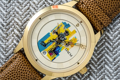 DAEM Pays Homage to Jean-Michel Basquiat With Luxury Watch Collection