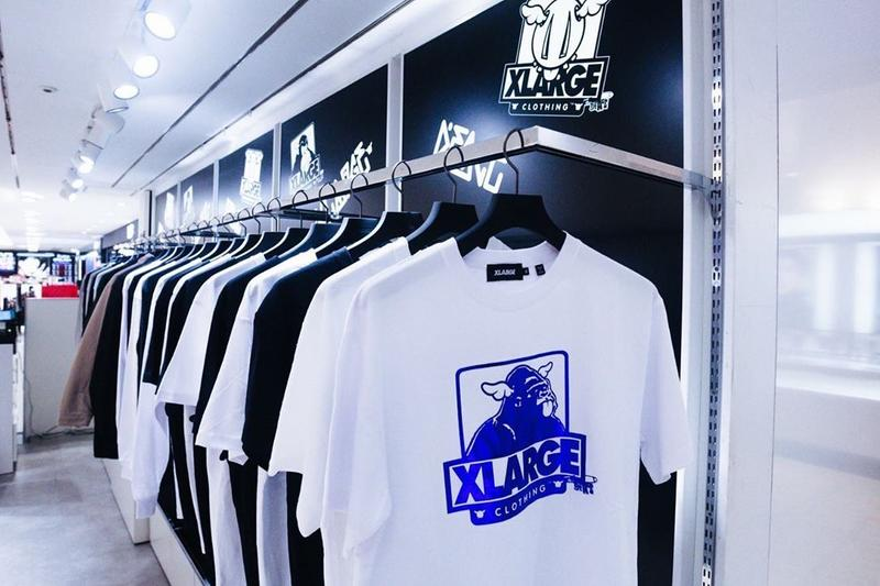 D*Face x XLARGE DesignerCon Capsule Collection OG Gorilla D*Dog Sculpture T-shirts Long Sleeves Jackets Skate Decks BE@RBRICK Pop-Up Event SEIBU SHIBUYA