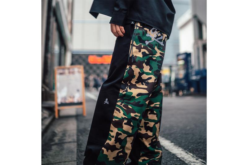 mastermind JAPAN x Dickies Collection Release Collaboration Camouflage Black Green Brown White T-shirts Long Sleeves Work Shirts Trousers