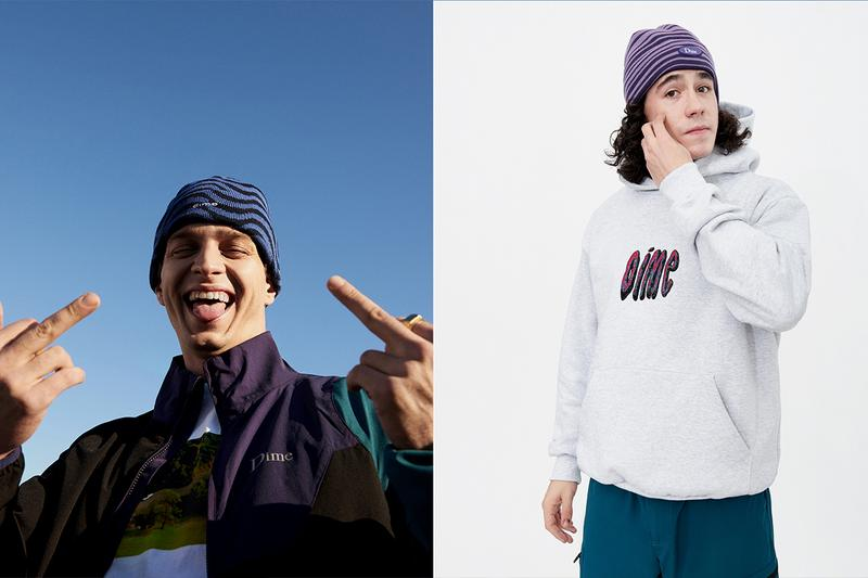 Dime Holiday 2019 Lookbook collection fall winter jackets 1990s montreal skateboarding skate outerwear logos Alexis Lacroix french casual streetwear staples hoodies tees beanies