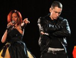 """Eminem """"Sides With Chris Brown"""" in Rihanna Assault on Newly Leaked Verse"""