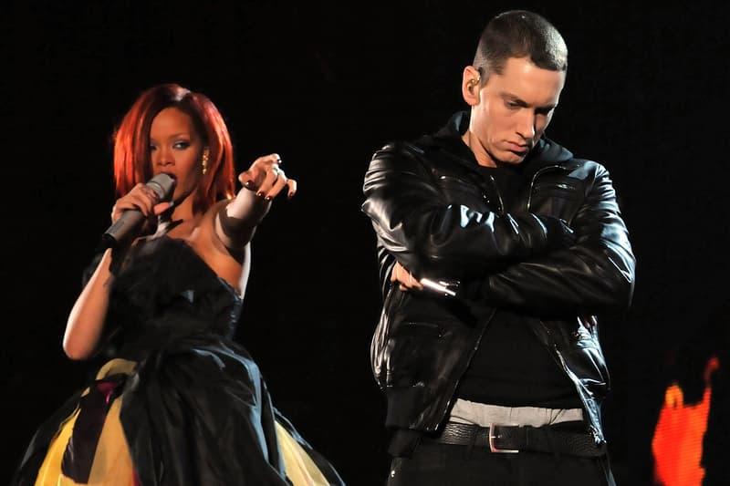Eminem's Entire Rihanna Assault Verse Leaks chris brown february 2009 joke R&B singer songwriter shady records rapper hip-hop