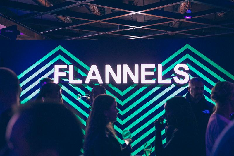 Flannels Fall/Winter Launch Party with AJ Tracey London Flagship Party