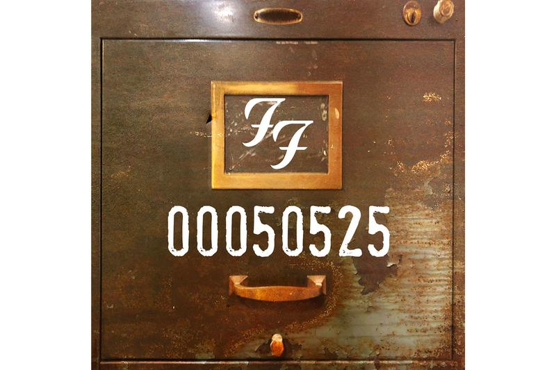 Foo Fighters 02050525 EP Stream dave grohl taylor hawkins pat smear chris shiflett rarities b-sides collection covers listen now apple music spotify 25th anniversary