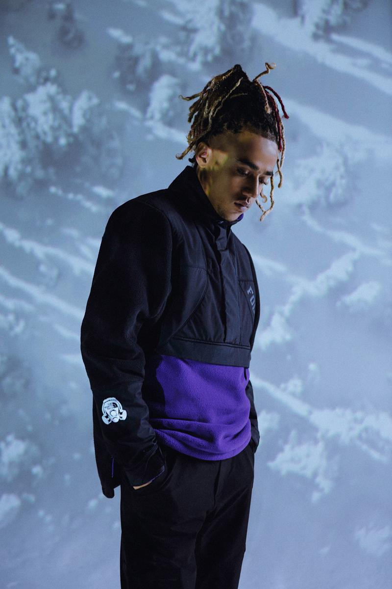 footpatrol the north face collection capsule mountain light jacket gas mask gore hat trail fire shoes gore tex nafe smallz lookbook release date info photos price