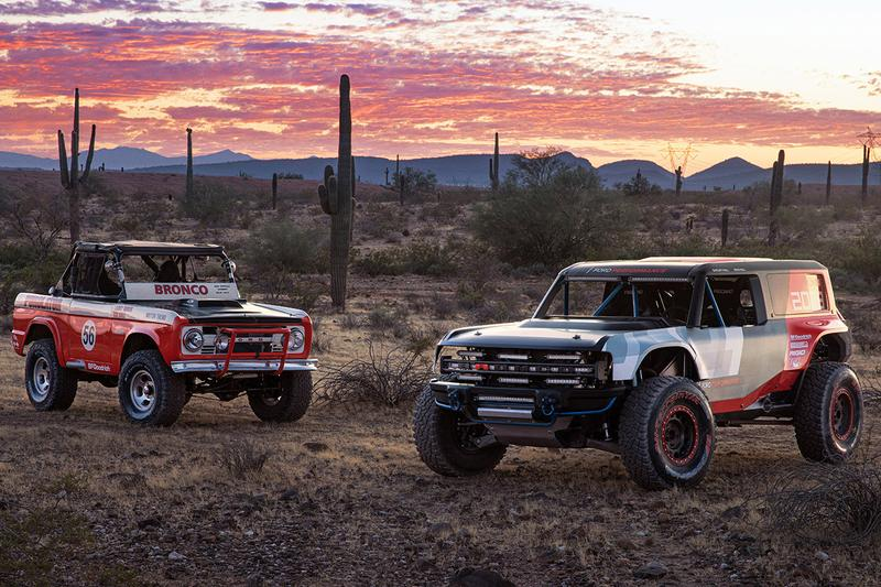 Ford Bronco R Race Prototype First Look Automotive Baja 1000 Racing Truck All-Terrain Supertrucks 4x4 Compressed Body Off-Roading Test