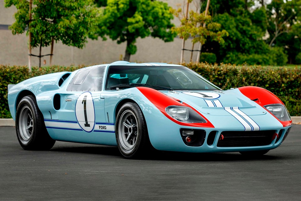 Ford GT40 MKII Replica From 'Ford V. Ferrari' Driven by Christian Bale Heads to Auction