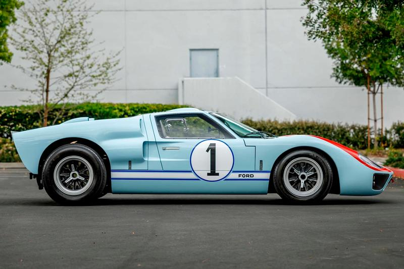 Ford Gt40 Replica For Sale >> Ford V Ferrari Ford Gt40 Mkii Replica Auction Hypebeast