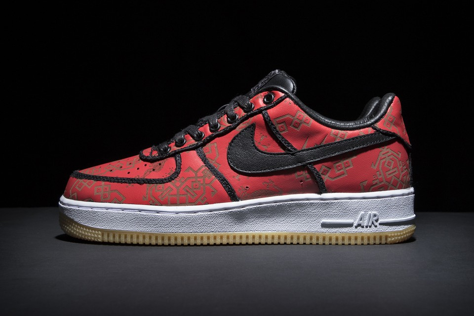 """Take an Official Look at the fragment design x CLOT x Nike Air Force 1 """"Black Silk"""""""